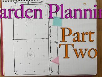 Garden Planning Part Two